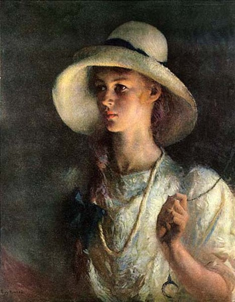 Frank Weston Benson, My Daughter