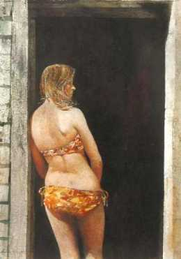 Bikini by Andrew Wyeth