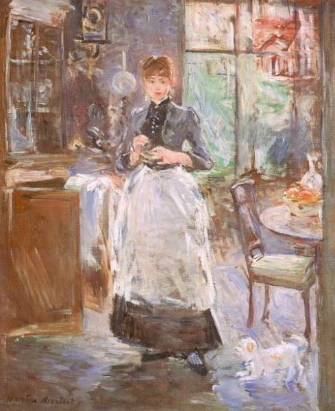 in the dining room berthe morisot galleryhip com the beauty will save in the dining room 1876 painting by