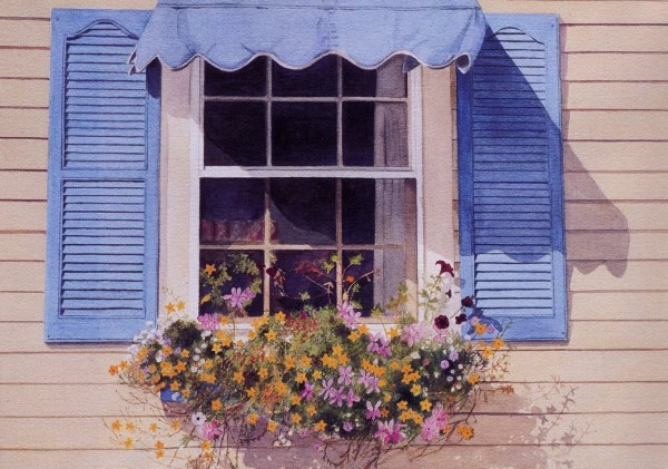 Blue Awning