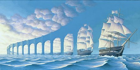 11 ships or 3 ships  & 8 arches