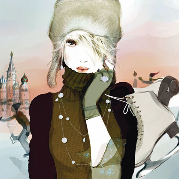 Sophie Griotto Fashion Illustrations